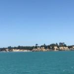 Kleine Insel vor Auckland.