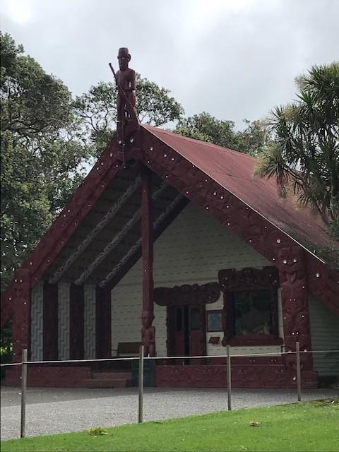 Maori-Versammlungshaus