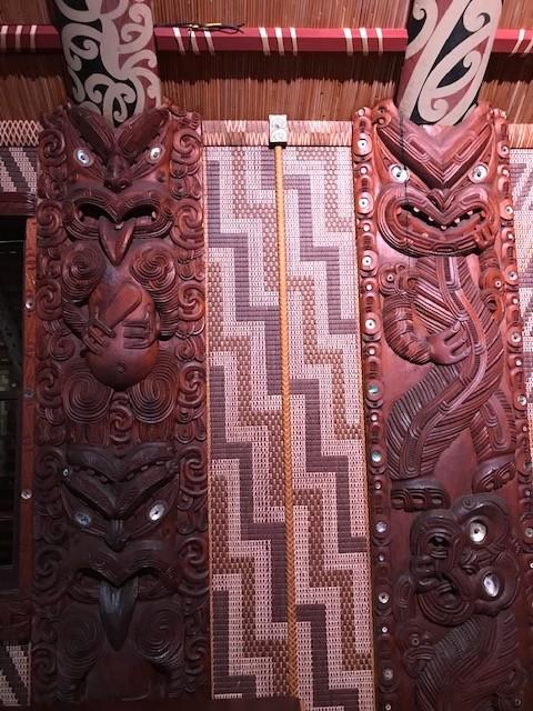 Detail im Versammlungshaus