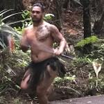 Dazu eine Ansprache auf Maori.