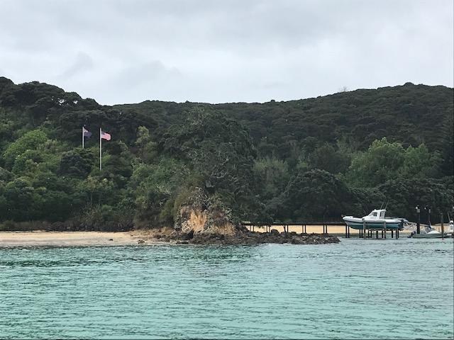 Privatgrundstück auf einer der rund 140 Inseln in der Bay of Islands.