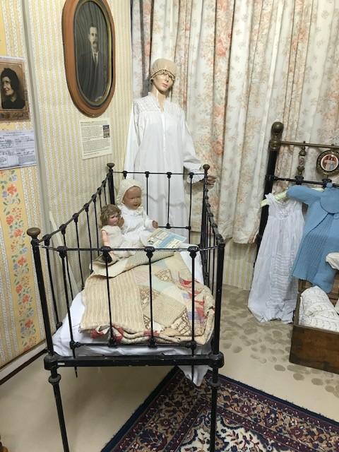 So sah es vielleicht in einem eher gutbürgerlichen Kinderzimmer aus.
