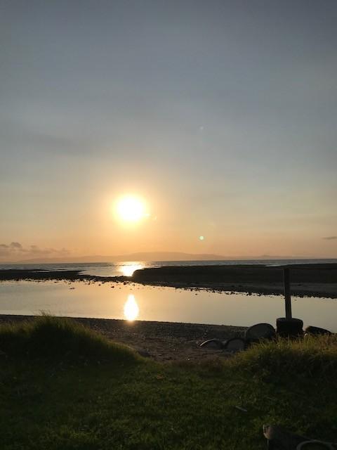 Und dann dieser spektakuläre Sonnenuntergang.